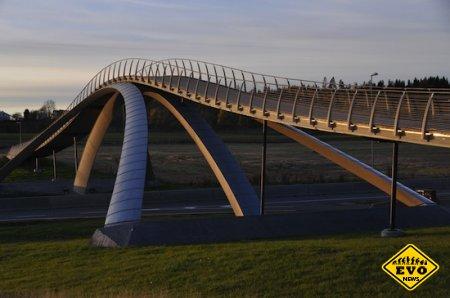 Мост по проекту Леонардо Да Винчи (интересная статья)