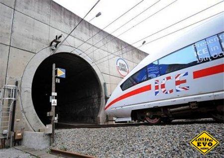Туннель под Ла-Маншем - один из новых чудес света