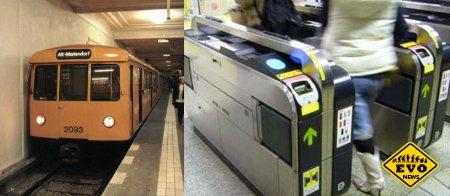 Генерация электричества проходящими людьми в метро