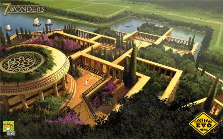 Висячие сады Семирамиды - строение одно семи чудес света