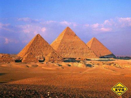 Пирамида Хеопса - одно из семи чудес света (Статья)