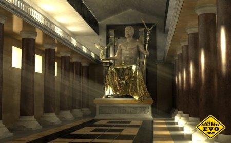 Статуя Зевса в Олимпии - одно из 7 чудес света (Статья)