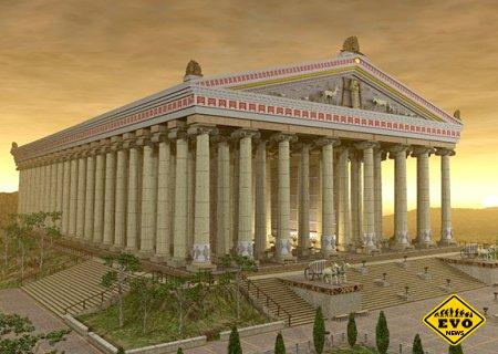 Храм Артемиды в Эфесе - входящий в 7 чудес света