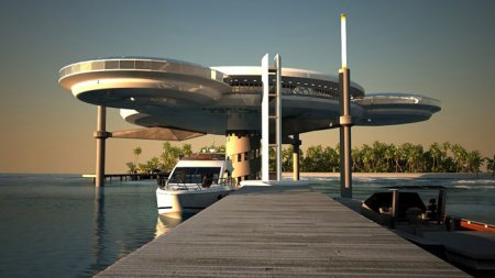 Water Discus Hotel - подводный отель в Дубае (Интересно)