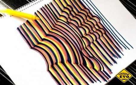 3D рука - рисуем 3D рисунок сами (Интересный урок)
