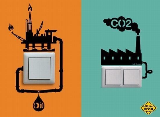 Интересные картинки наклейки от ECO REMINDERS