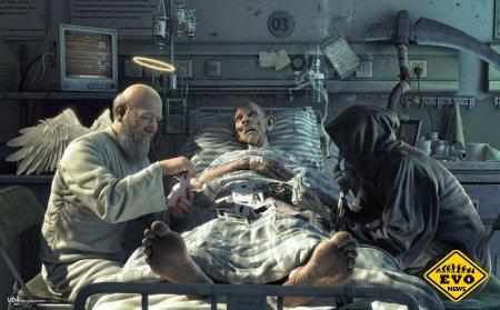 Просто сильная картинка о жизни и смерти