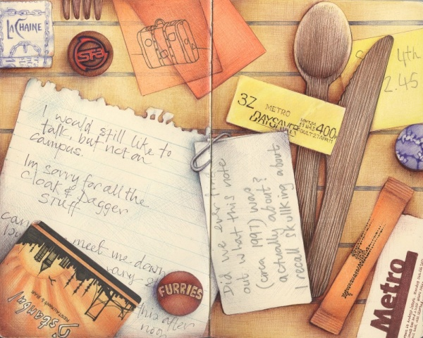 Шедевры нарисованы шариковой ручкой от Andrea Joseph