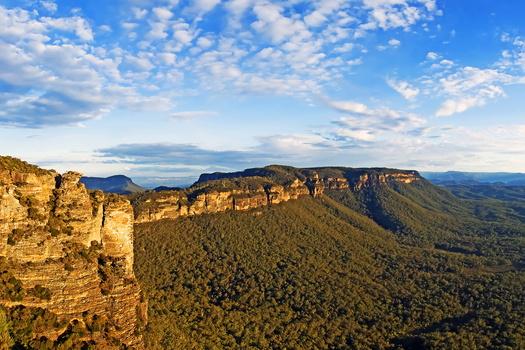 Blue Mountains, Australia - небольшой красивый видеоролик