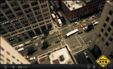 День в Нью-Йорке красивое Tilt-shift видео (2012)
