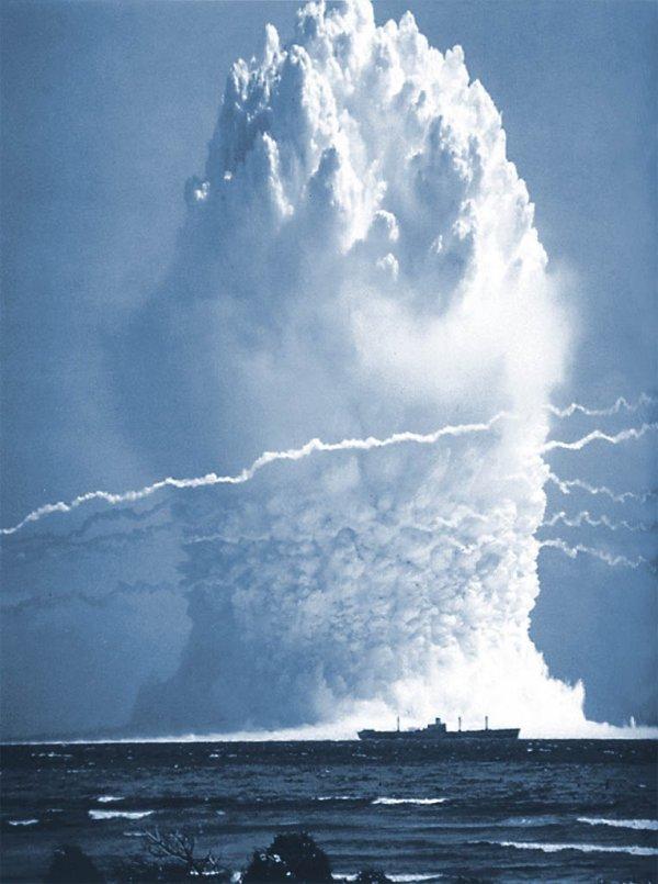 Интересные фотографии испытаний ядерного оружия