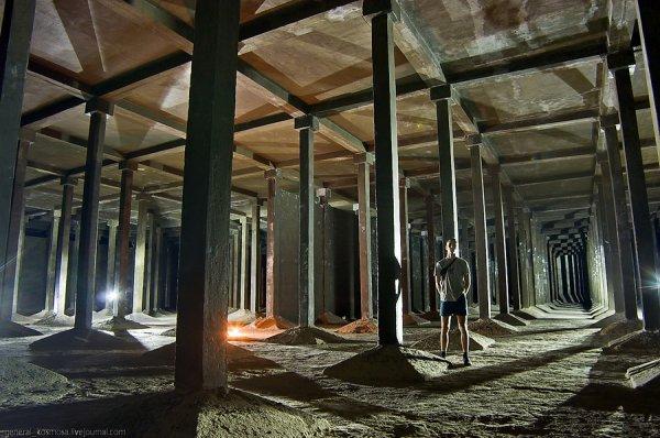 Подземные водохранилища в центре Киева (в фотографиях)