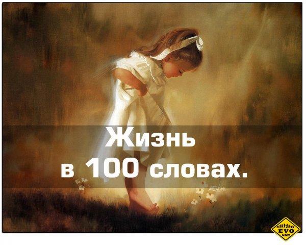 История Жизни в 100 словах (Интересный стих)
