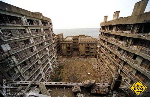 Ганкаджима - город призрак (статья в фотографиях)