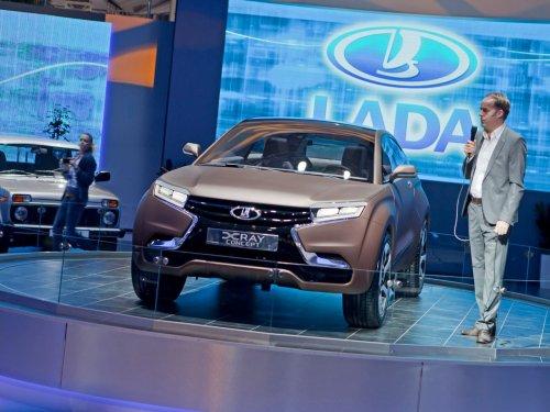 Lada XRAY - новый концепт автомобиля 2012