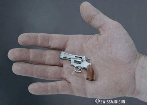 Самое маленькое в мире огнестрельное оружие