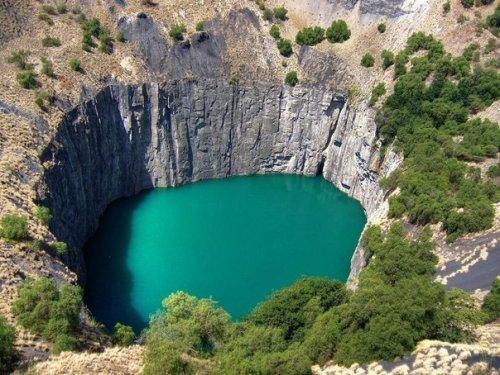 «Большая Дыра» Кимберли ЮАР (Интересный факт)