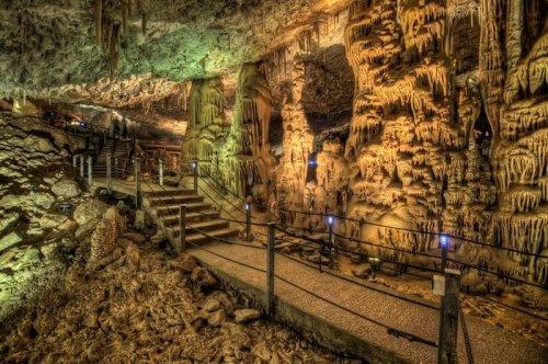 Сталактитовая пещера Авшалом, Израиль