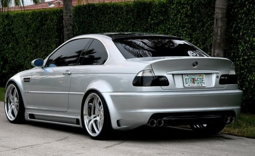 BMW 3er E46 - авто картинки данной красавици