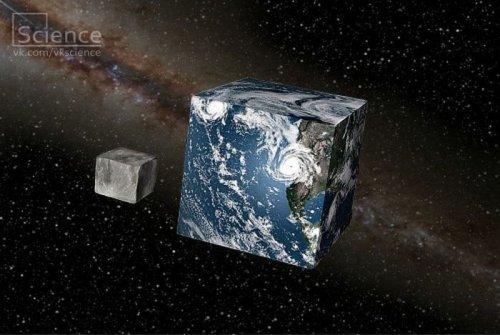 Что было бы, если бы Земля была кубом?