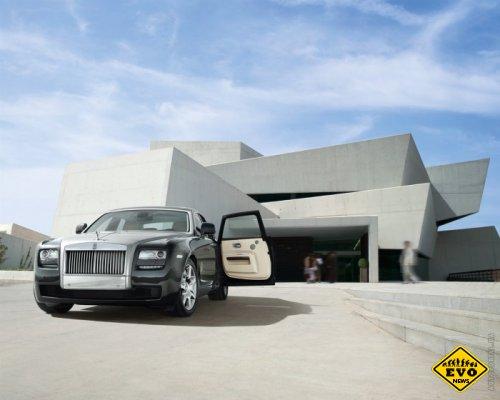 Rolls-Royce обновил седан Ghost (Авто новости)