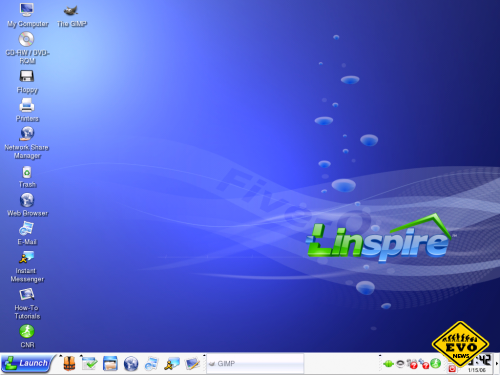 ������������ ������� Linspire ��� ������ Windows