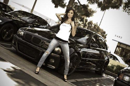 BMW и Девушки - взрывная смесь) (Авто картинки)