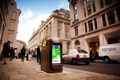 В Лондоне появились урны с Wi-Fi (Hi-tech новость)