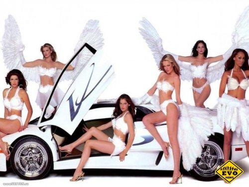 Lamborghini Angels - авто красотка