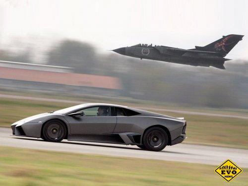 Lamborghini Reventon - среднемоторный суперкар