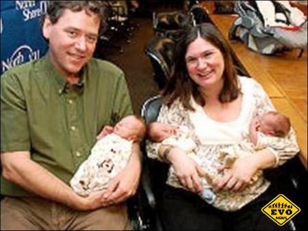 В США родилась самая тяжелая тройня в мире