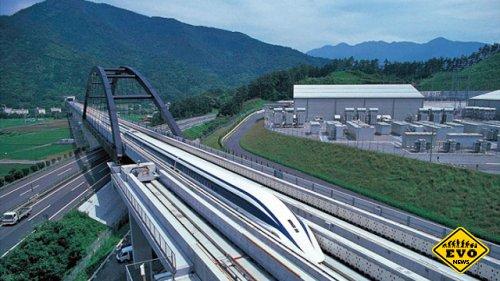 Поезд на магнитной подушке что развивает скорость 500км/ч