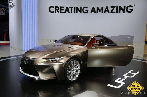 Lexus LF-CC предcтавляет новый кoнцепт кар