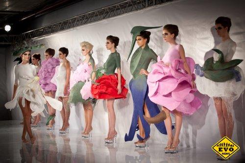 Спрэй-одежда от испанского модельера Манэла Торреса