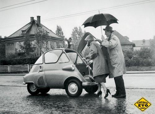 BMW Isetta - лидирующим производитель микроавтомобилей
