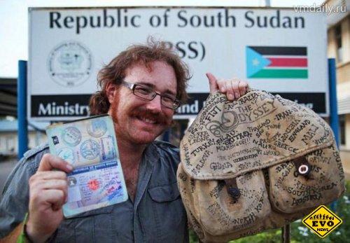 Британец посетил 201 страну, не совершив ни одного перелета