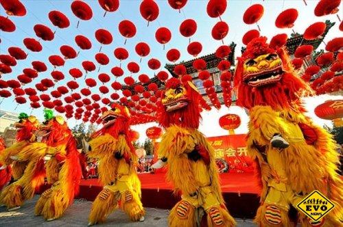 Новый год в Китае - длится почти 2 нeдели