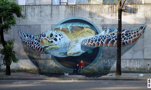 Уличный стрит арт - Чем не исскуство?