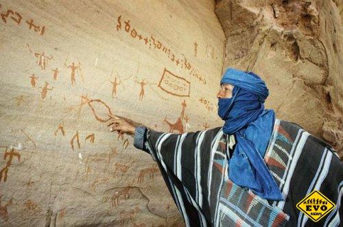 Определен возраст самых древних наскальных рисунков