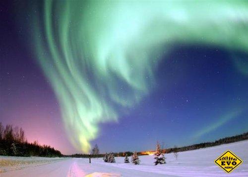 Ученым удалось записать «пение» северного сияния