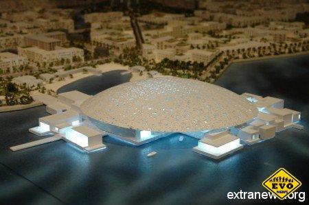 В Арабских Эмиратах построят второй Лувр