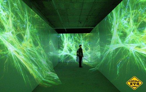 Видео-арт - выставка видеоинсталляций в Перми