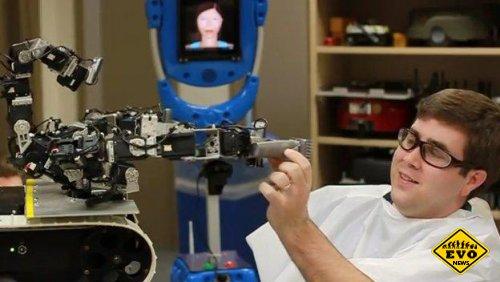 В скором времени людей станут стричь роботы