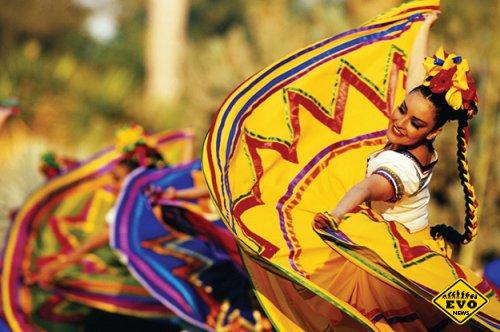 Карнавал в Мексике и Серхио Санта Мария