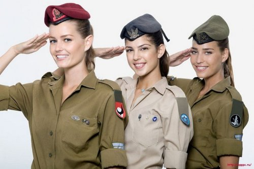 Девушки израильской армии (Армейские фотки)