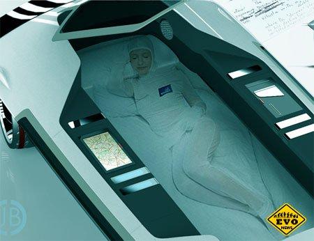 Концепт Saucer — автомобиль в котором можно спать