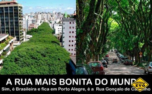 Улица в Порту-Алегри не похожа ни на одну улицу в мире