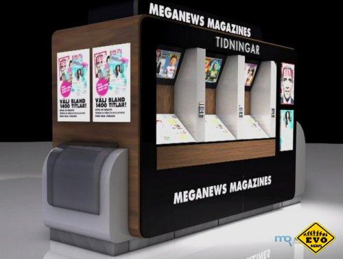 Киоск, печатающий журналы (Статья)