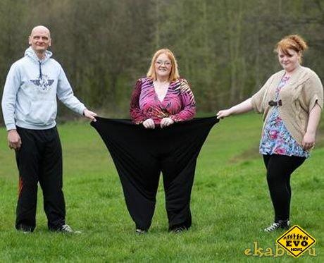 Благодаря любви вес британки уменьшился на 200кг