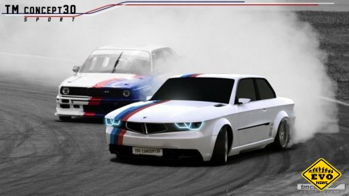 Сверх тюнинг BMW E30 от TM Cars
